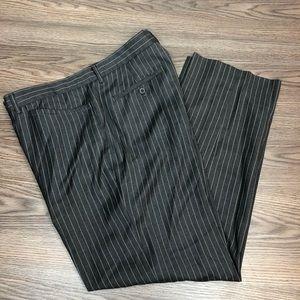 Michael Kors Grey w/ White Pinstripe Pants 36x32